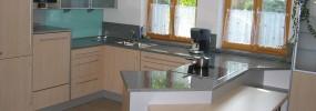 Küche in der Umsetzung