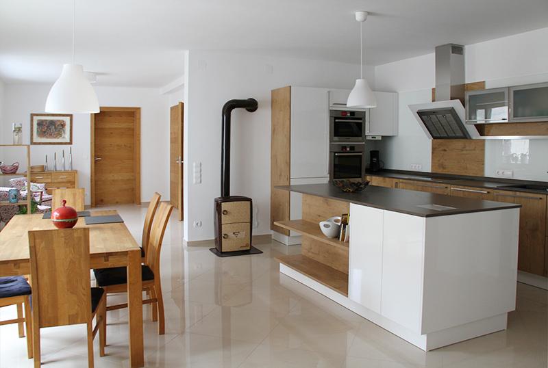 kuche und esszimmer. Black Bedroom Furniture Sets. Home Design Ideas